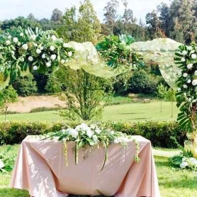 Flores para bodas civiles 17