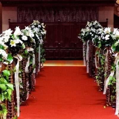 Flores para iglesia 32