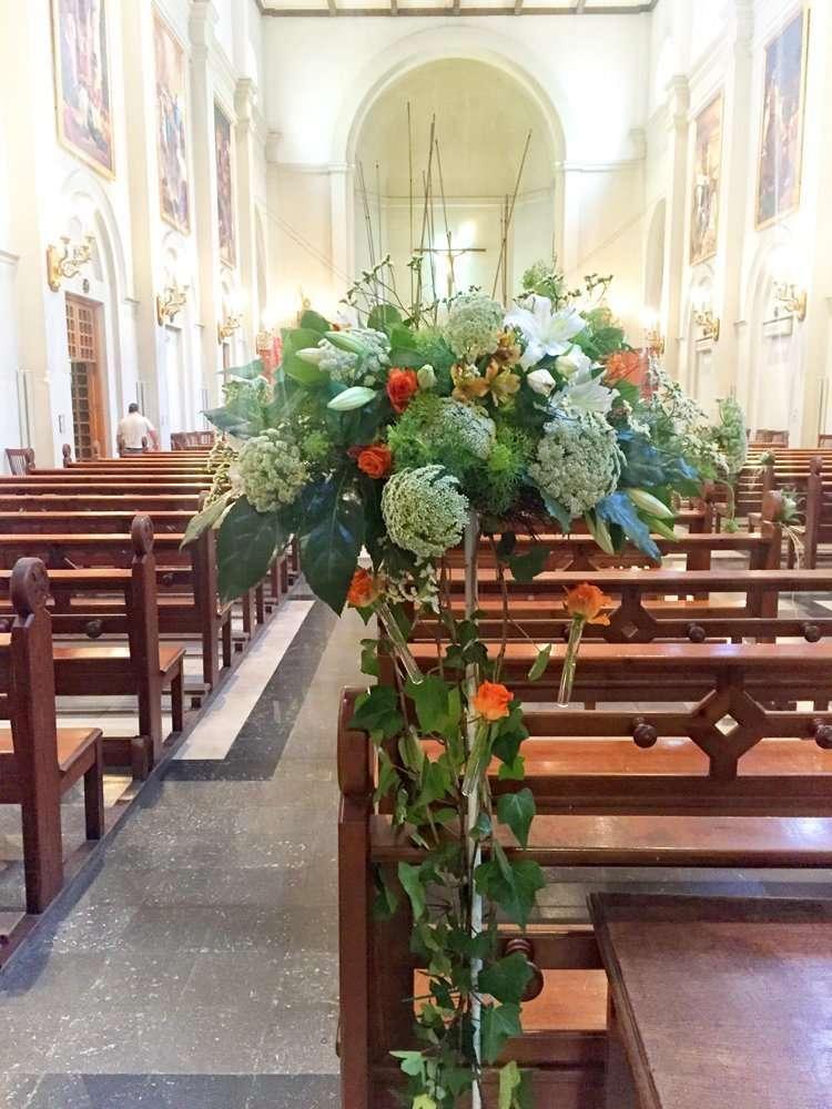 Flores para bienvenida Sencillez