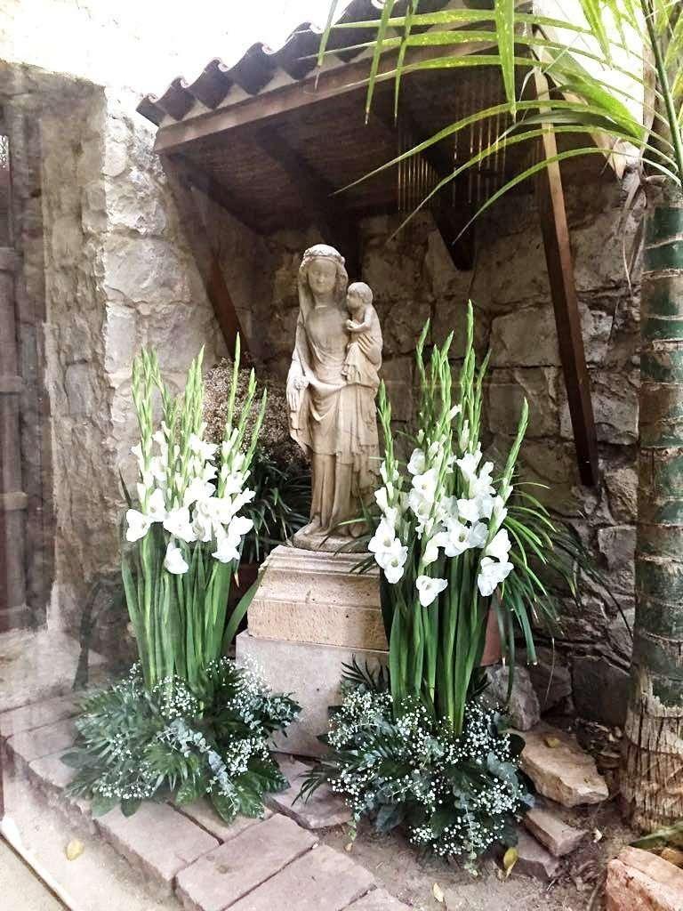 Flores para imágenes religiosas