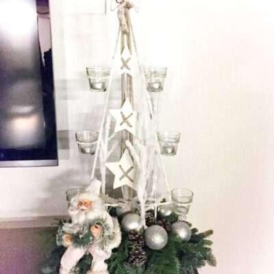 Candelabro de Navidad