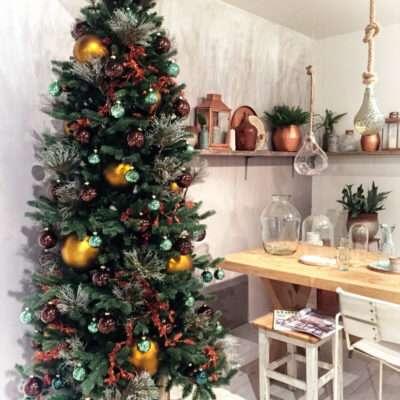 Árbol de Navidad lima limón