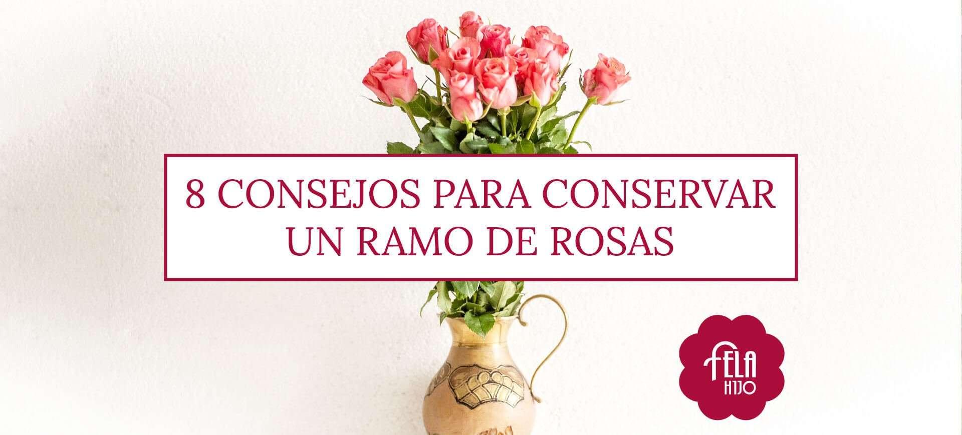 8 consejos para conservar un ramo de rosas flores fela - Como secar un ramo de rosas ...