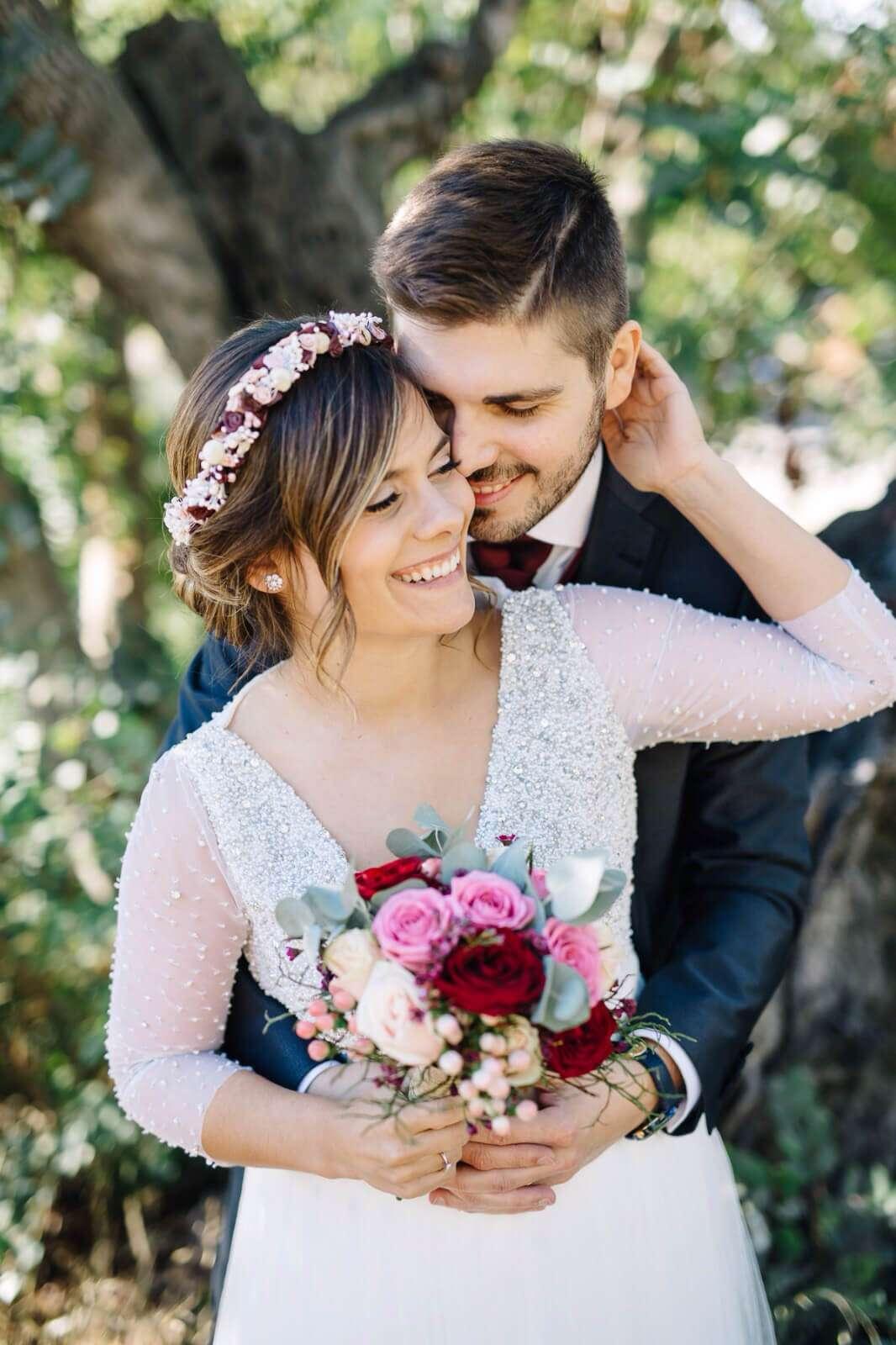 Flores en otoño para boda