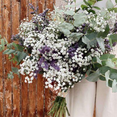 Ramo de flores naturales de larga duración
