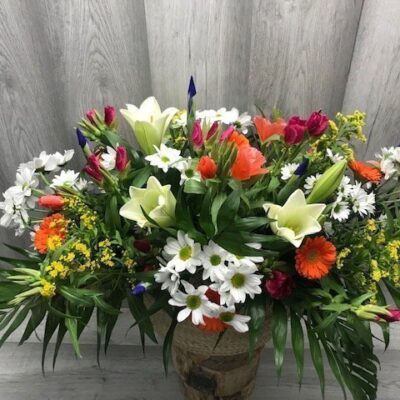 Cesta Flores de Primavera