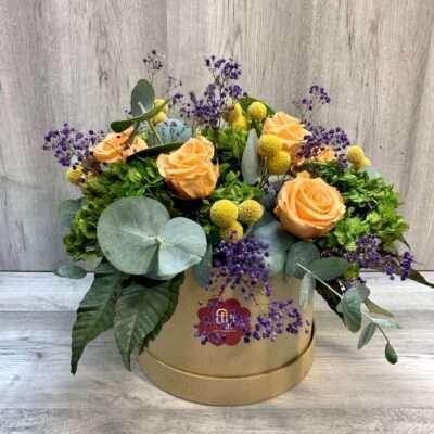 Caja de flores flores fela
