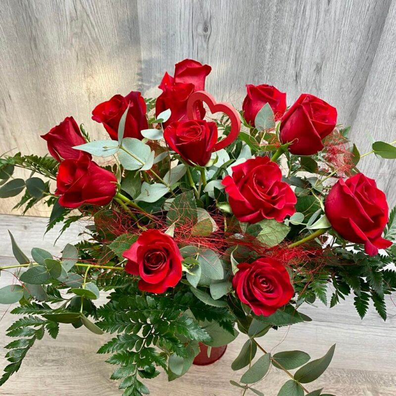 Flores para San Valentin flores fela