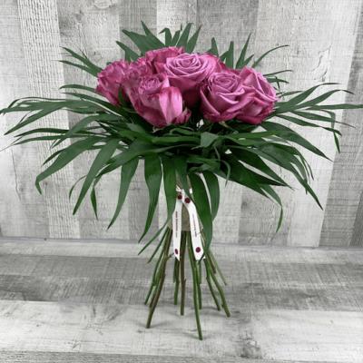 Ramo de rosas malvas flores fela